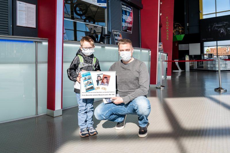 Technik Museum Sinsheim begrüßt erste Besucher